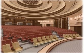 ساختمان آمفی تئاتر دانشکده منابع طبیعی کرج