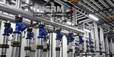 موتورخانه مرکزی - تاسیسات مکانیکی - برج مسکونی